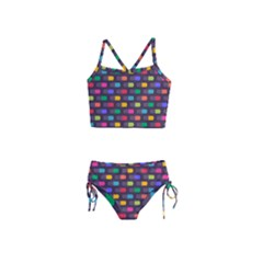 Background Colorful Geometric Girls  Tankini Swimsuit