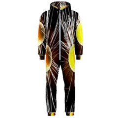 Abstract Exploding Design Hooded Jumpsuit (men)  by HermanTelo