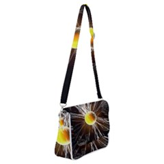 Abstract Exploding Design Shoulder Bag With Back Zipper by HermanTelo