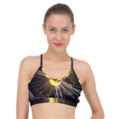Abstract Exploding Design Basic Training Sports Bra by HermanTelo