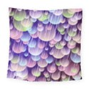 Abstract Background Circle Bubbles Space Square Tapestry (Large) View1