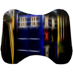 Famous Blue Police Box Head Support Cushion