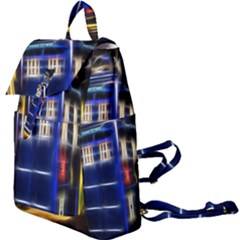 Famous Blue Police Box Buckle Everyday Backpack