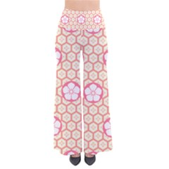 Floral Design Seamless Wallpaper So Vintage Palazzo Pants