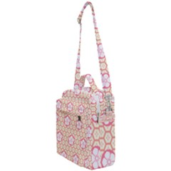 Floral Design Seamless Wallpaper Crossbody Day Bag