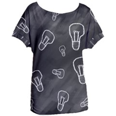 Many Lamps Background Women s Oversized Tee by HermanTelo