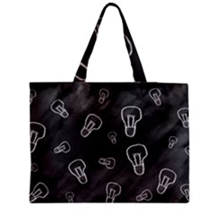 Many Lamps Background Zipper Medium Tote Bag by HermanTelo