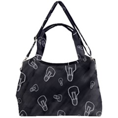 Many Lamps Background Double Compartment Shoulder Bag
