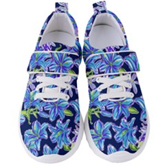 Preppy Floral Pattern Women s Velcro Strap Shoes by tarastyle