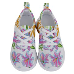 Preppy Floral Pattern Running Shoes by tarastyle
