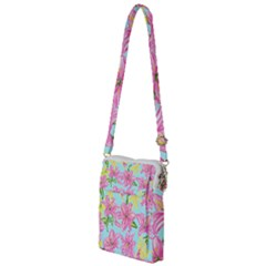 Preppy Floral Pattern Multi Function Travel Bag by tarastyle