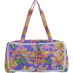 Preppy Floral Pattern Multi Function Bag by tarastyle