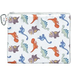 Pattern Dinosaurs Canvas Cosmetic Bag (xxxl)