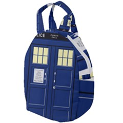 Tardis Doctor Who Time Travel Travel Backpacks