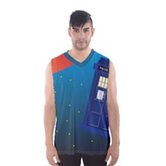 Tardis Doctor Time Travel Men s Sportswear