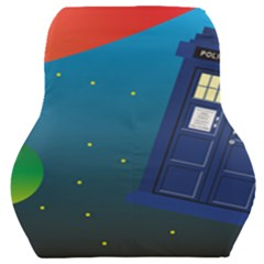 Tardis Doctor Time Travel Car Seat Back Cushion