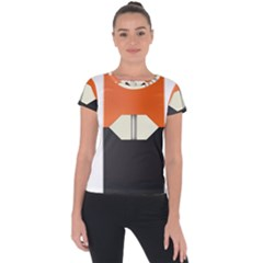 Juul Mango Pod Short Sleeve Sports Top  by TheAmericanDream