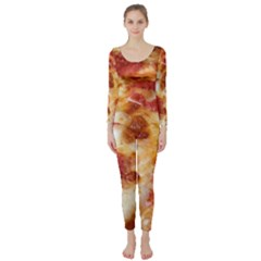 Pizza Long Sleeve Catsuit by TheAmericanDream