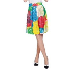 Gummy Bear A-line Skirt by TheAmericanDream