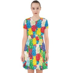 Gummy Bear Adorable In Chiffon Dress by TheAmericanDream