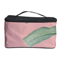 Banana Leaf On Pink Cosmetic Storage by goljakoff
