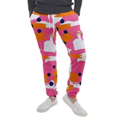 Abstract Colorful Doodle Pattern Men s Jogger Sweatpants by tarastyle