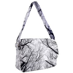 Forest Trees Silhouette Tree Courier Bag