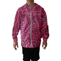 Pattern Doodle Design Drawing Kids  Hooded Windbreaker
