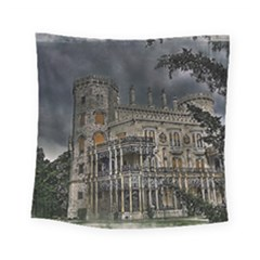 Castle Mansion Architecture House Square Tapestry (small) by Pakrebo