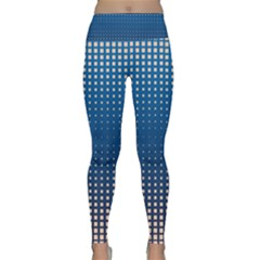 Geometric Wallpaper Lightweight Velour Classic Yoga Leggings
