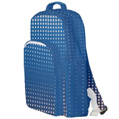 Geometric Wallpaper Double Compartment Backpack