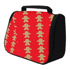 Gingerbread Cookie Christmas Full Print Travel Pouch (small)