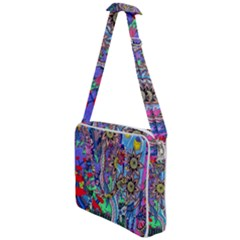 Abstract Forest  Cross Body Office Bag by okhismakingart