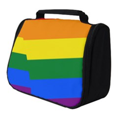 Lgbt Rainbow Pride Flag Full Print Travel Pouch (small) by lgbtnation