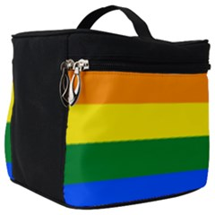 Lgbt Rainbow Pride Flag Make Up Travel Bag (big) by lgbtnation