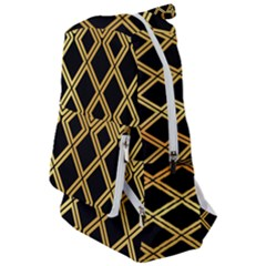 Arabic Pattern Gold And Black Travelers  Backpack