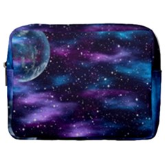 Background Space Planet Explosion Make Up Pouch (large)