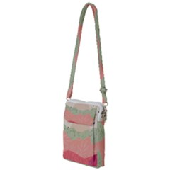 Blush Pink Landscape Multi Function Travel Bag