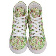 Background Christmas Star Advent Women s Hi Top Skate Sneakers
