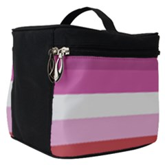 Lesbian Pride Flag Make Up Travel Bag (small) by lgbtnation