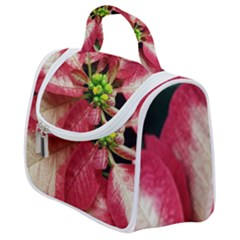 Christmas Poinsettia Deco Jewellery Satchel Handbag