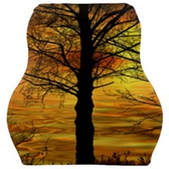 Nature Sunset Landscape Sun Car Seat Velour Cushion
