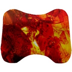 Bernstein Burning Stone Gem Head Support Cushion