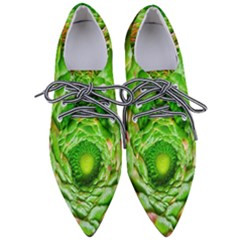Ranunculus Blossom Bloom Nature Pointed Oxford Shoes