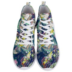 Paint Acrylic Paint Art Colorful Men s Lightweight High Top Sneakers by Pakrebo