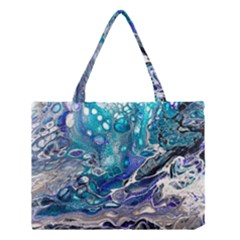 Paint Acrylic Paint Art Colorful Medium Tote Bag