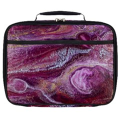Paint Acrylic Paint Art Colorful Full Print Lunch Bag