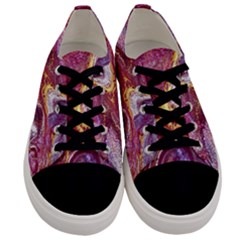 Paint Acrylic Paint Art Colorful Men s Low Top Canvas Sneakers