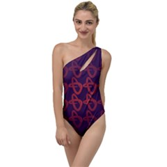 Zappwaits Design To One Side Swimsuit