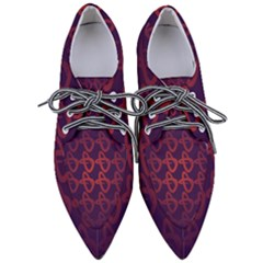 Zappwaits Design Pointed Oxford Shoes by zappwaits